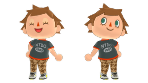 MMD Male Villager DL by McChipy