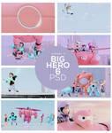 Big Hero 6 Pastel PSD