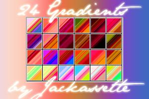 Gradients 1 by Jackassette