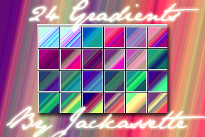 Gradients 5-Random Assortment by Jackassette