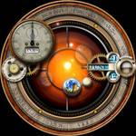 Steampunk Calendar Orrery Yahoo Widget