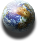Earth Icon and Desktop Widget by yereverluvinuncleber