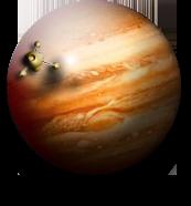 Jupiter Planetary Desktop Widget and Icon MkIII by yereverluvinuncleber