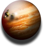 Jupiter Planetary Desktop Widget and Icon MkIII