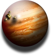 Jupiter Planetary Desktop Widget and Icon MkIII by yereverluvinuncleber