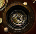 Steampunk Underwidget and Icons