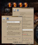 Steampunk Thermionic Nixie Tube Yahoo Widget by yereverluvinuncleber