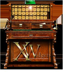 Steampunk Xwidgets Icon by yereverluvinuncleber