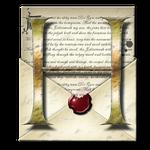 Steampunk Open Envelope Help Icon