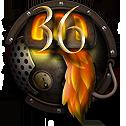 Steampunk Firefox Version 36 Icon by yereverluvinuncleber