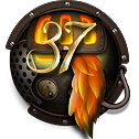 Steampunk Firefox Version 37 Icon by yereverluvinuncleber
