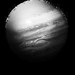 Steampunk Jupiter GreyScale Icon