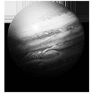 Steampunk Jupiter GreyScale Icon by yereverluvinuncleber