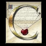 Steampunk C Open Envelope Icon