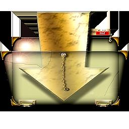 Steampunk Download Folder Icon By Yereverluvinuncleber On Deviantart