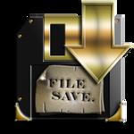 Steampunk Disc Save Icon