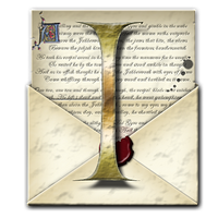 Steampunk I Open Envelope Icon by yereverluvinuncleber