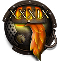 Steampunk Firefox Ver. XXXIX (39) Icon by yereverluvinuncleber