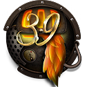 Steampunk Firefox Version 39 Icon by yereverluvinuncleber