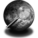 Steampunk Planetary Greyscale Icon