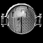 Steampunk Greyscale Facebook Icon