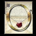 Steampunk O Open Envelope Icon