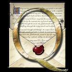 Steampunk Q Open Envelope Icon