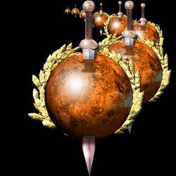 Steampunk Venus with Sword Icon