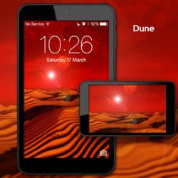 Dune Arrakis Desert landscape Mobile Wallpaper