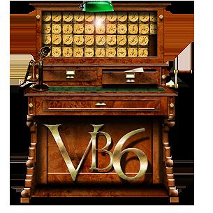 Steampunk Tabulator VB6 Icon MkII by yereverluvinuncleber