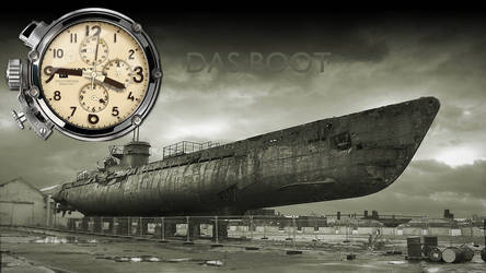 U-Boat Dual Time Clock Yahoo Widget
