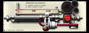 Dieselpunk volume control trial image by yereverluvinuncleber