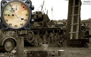 Panzer Battery Gauge Xwidget by yereverluvinuncleber