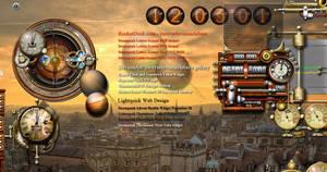 Steampunk XWidget RSS by yereverluvinuncleber