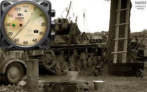 Panzer Temperature Gauge Xwidget by yereverluvinuncleber