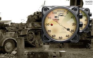 Panzer Drive Storage Gauge Xwidget by yereverluvinuncleber