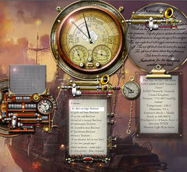 Steampunk Media Player Yahoo Konfabulator 1.0.13 R by yereverluvinuncleber
