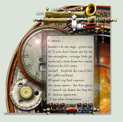 Steampunk media player Xwidget 2.0.1 by yereverluvinuncleber
