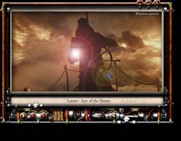 Steampunk VLC Skin Mock Up by yereverluvinuncleber