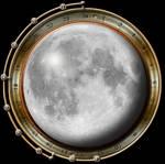 Steampunk Moon Icon