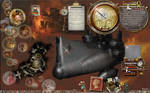 Steampunk Christmas desktop 2017
