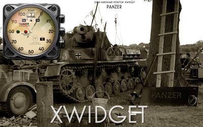 Panzer Open Hardware Monitor Temperature Xwidget by yereverluvinuncleber