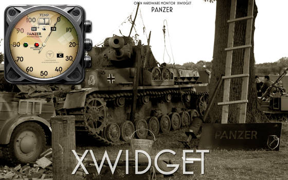 Panzer Open Hardware Monitor Temperature Xwidget by yereverluvinuncleber