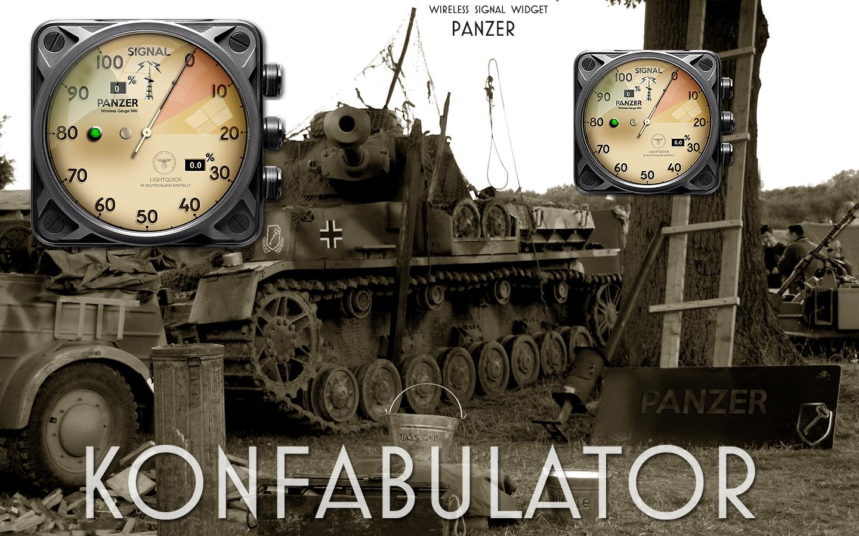Panzer wireless gauge Ywidget by yereverluvinuncleber