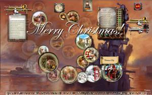 Musical Christmas Advent Bauble Widgets