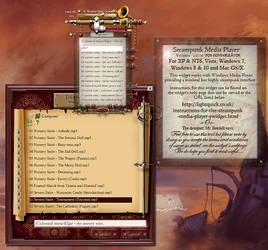 Steampunk MediaPlayer Ywidget 1.0.14a by yereverluvinuncleber
