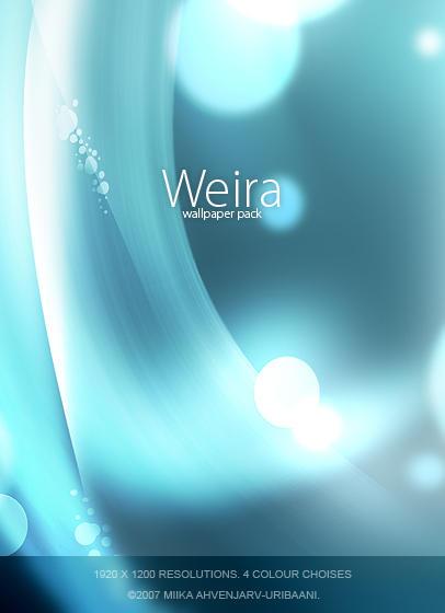 Weira -Wallpaper pack. by Uribaani