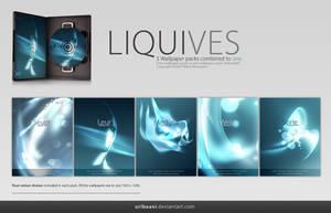 Liquives -Wallpaper pack. by Uribaani