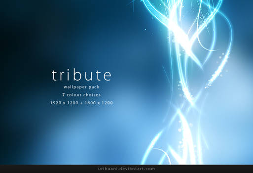 Tribute -Wallpaper pack.