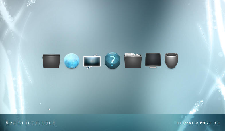 Realm icon pack. by Uribaani